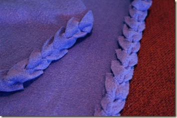 Braided Fleece Blanket
