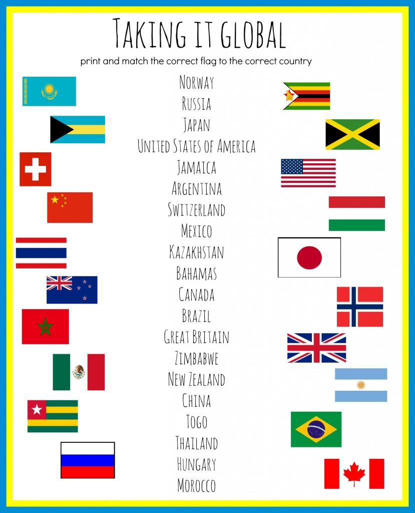 Taking it Global: Flag Identification