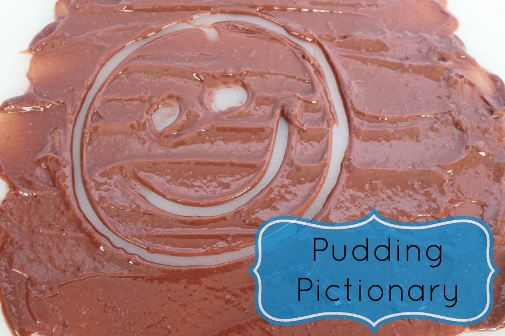 pudding pictionary