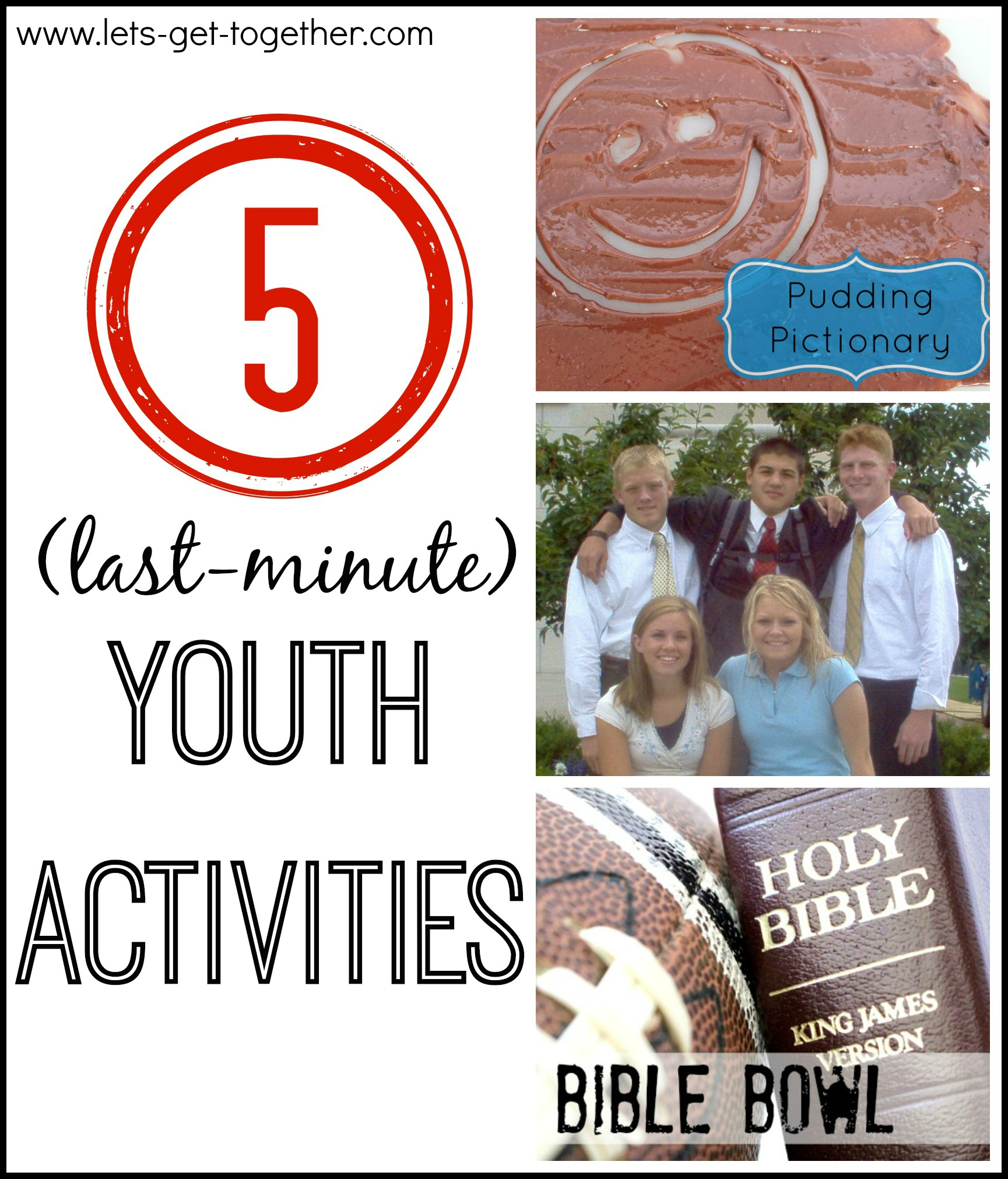 5 (Last-Minute) Youth Activities