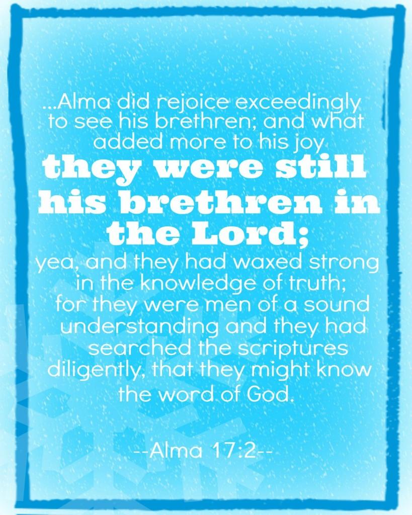 Alma 17:2 16x20