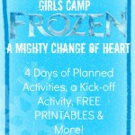 FROZEN Wrap-up & FREE PRINTABLES