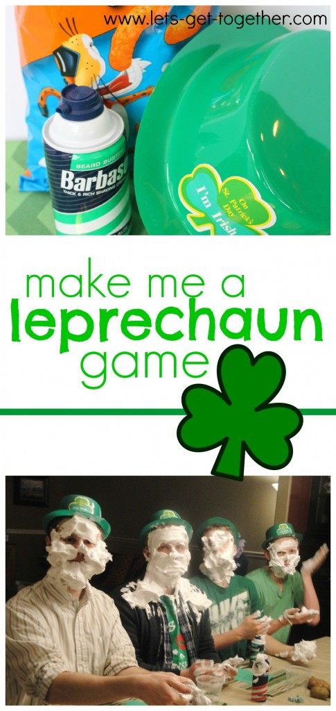 Make Me a Leprechaun Game from Let's Get Together