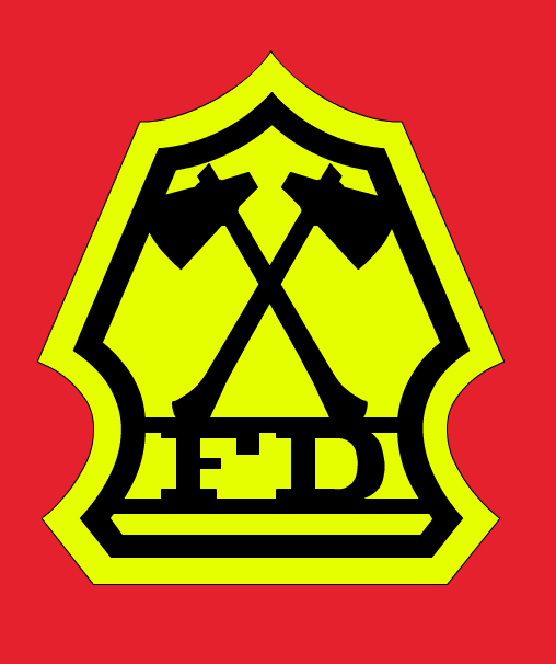 Fireman Logo from Let's Get Together
