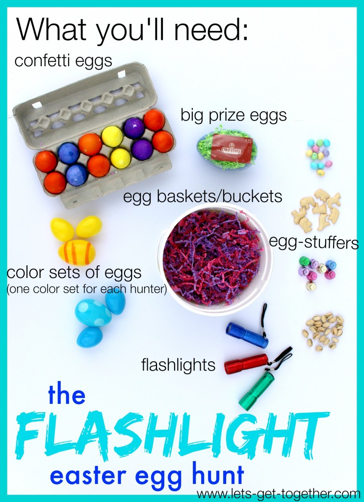 Flashlight Easter Egg Hunt from Let's Get Together