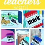 10 Gifts Teachers Want