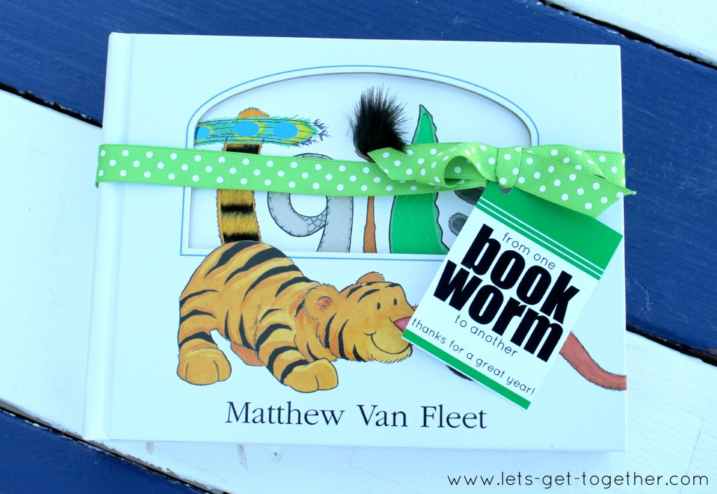 Book Gift Tag from Let's Get Together
