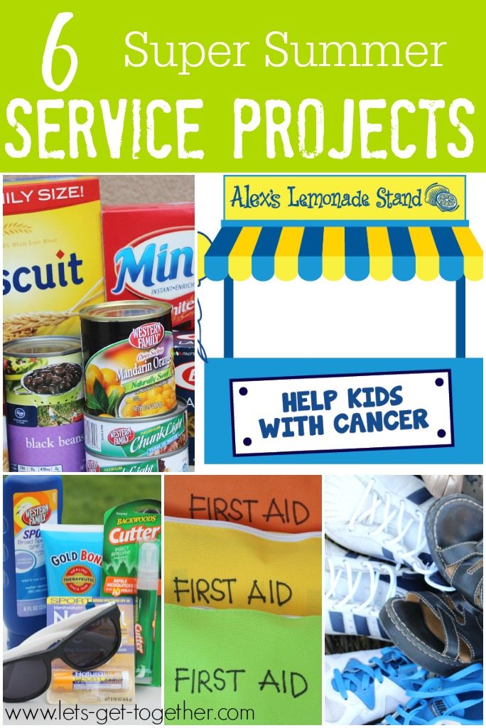 6 Super Summer Service Projects from Let's Get Together