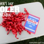 Father's Day Cooler & FREE PRINTABLE
