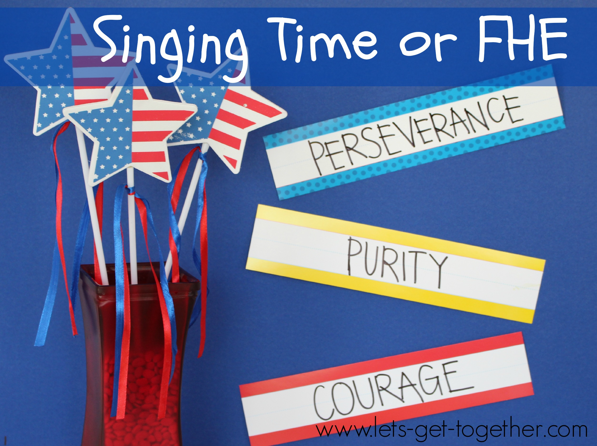 4th of july singing time or fhe