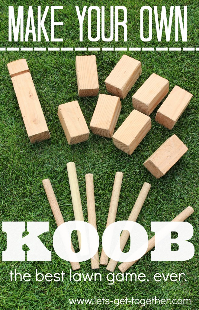 DIY KOOB from Let's Get Together