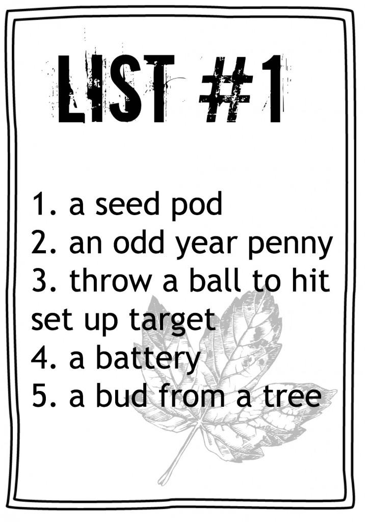 List #1