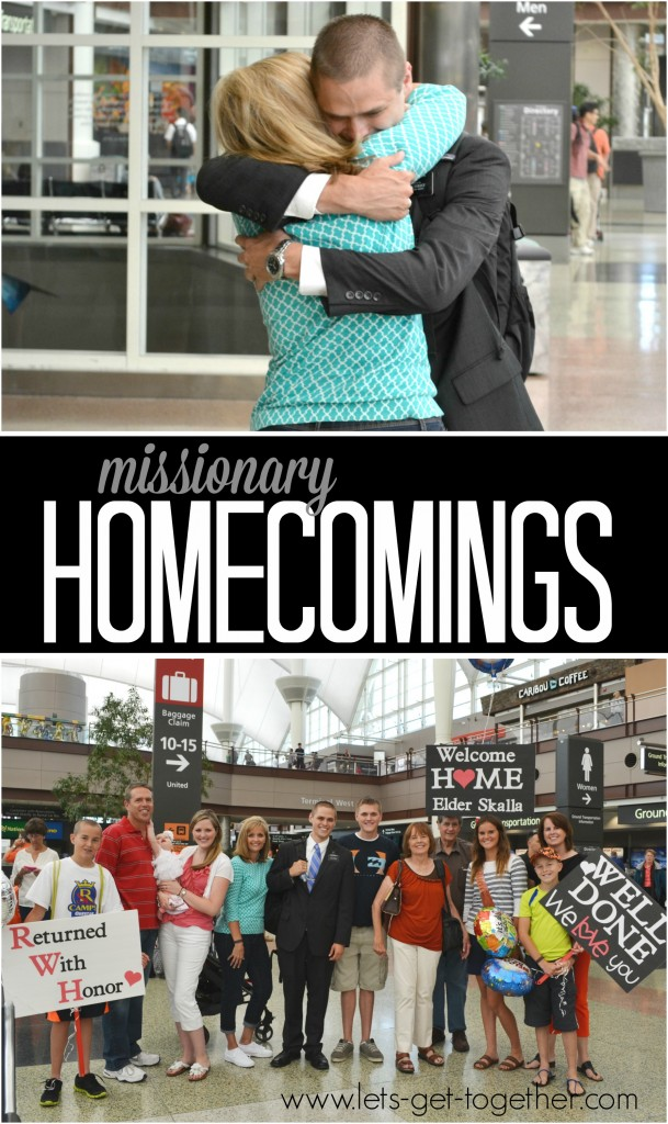 Missionary Homecomings  Let's Get Together