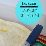 DIY: Homemade Laundry Detergent