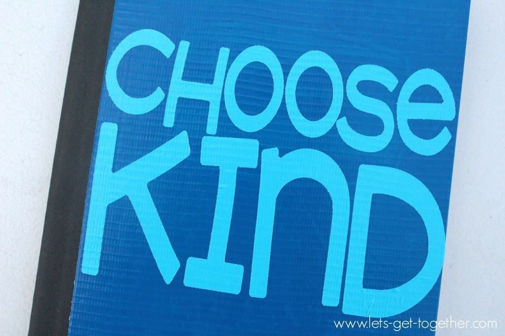 Chooose Kind Notebook from Let's Get Together