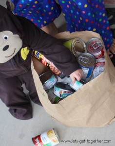 Trick-or-Treating for the Food Bank