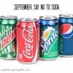 September: Say No to Soda