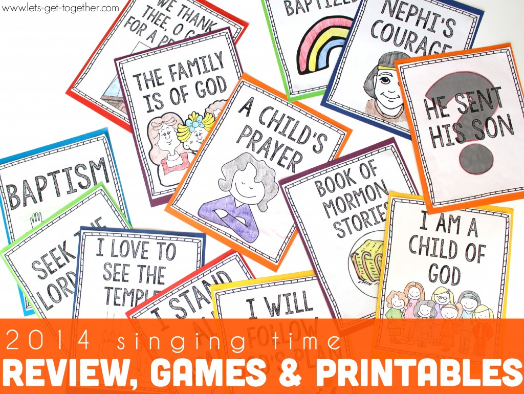 2014 Review, Games, & Printables