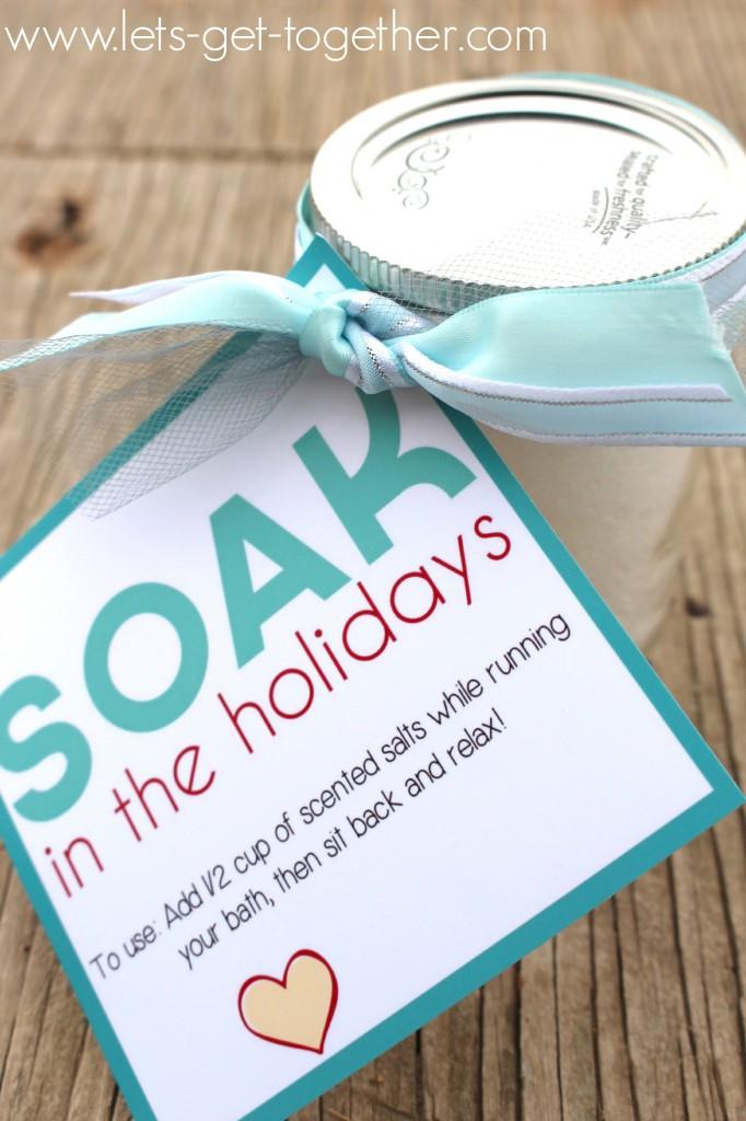 Bath Salts Neighbor Gift