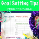 New Year Goal Setting Tips {FREE PRINTABLE}