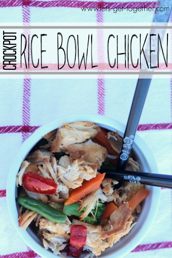 Crockpot Rice Bowl Chicken