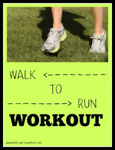 Walk to Run: A Workout for Everyone