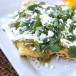 Healthy Enchiladas Verdes