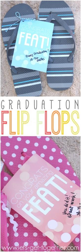 Graduation Flip Flops
