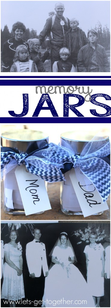 Memory Jars from Let's Get Together