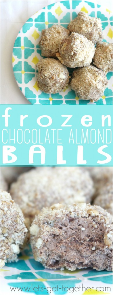 Frozen Chocolate Almond Balls
