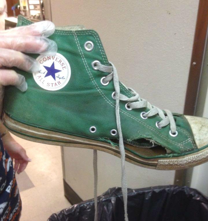 Homeless Shoe