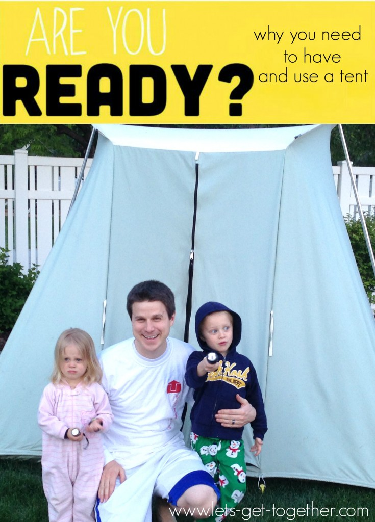 Are You Ready Let's Talk Tents