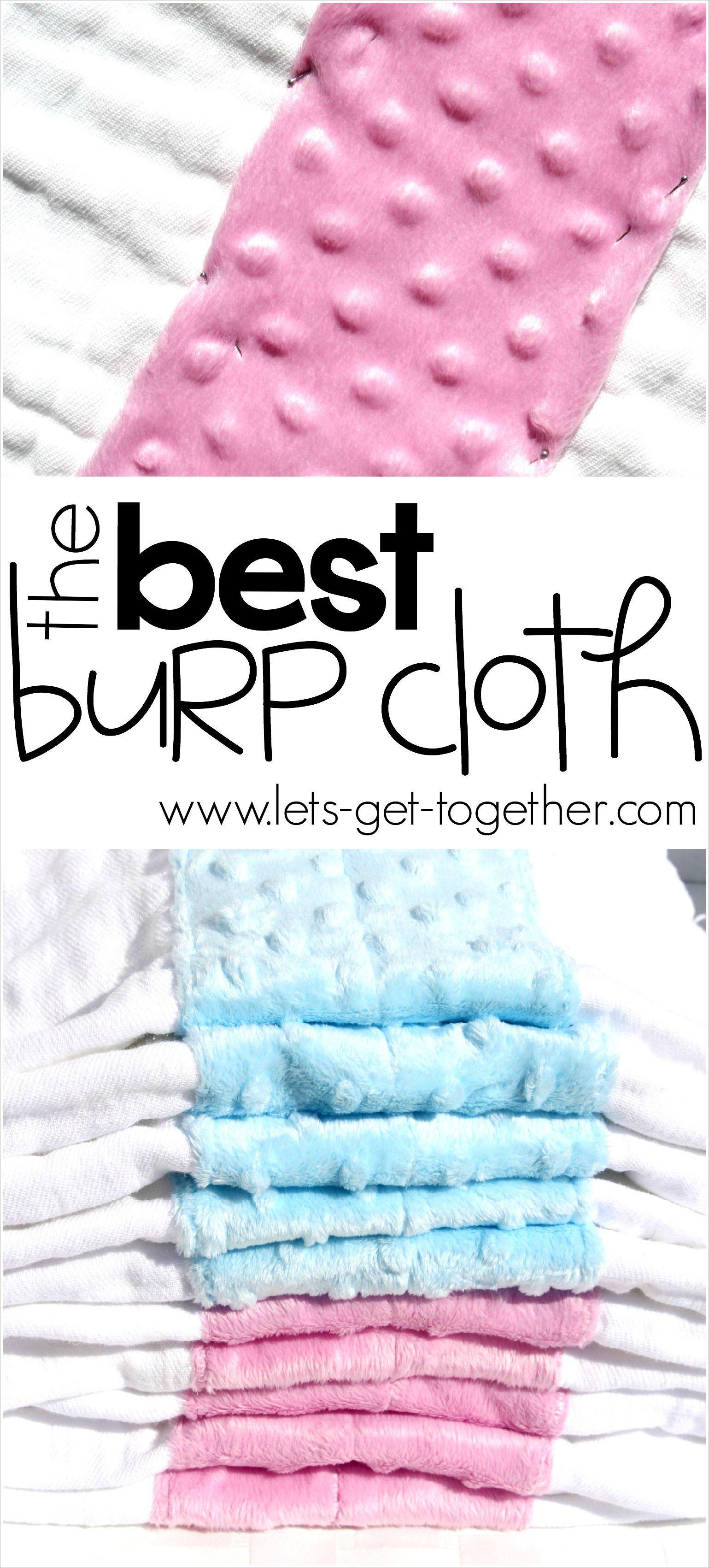 Diy The Best Burp Cloth