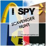 I Spy Scavenger Hunt
