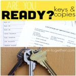 Are You Ready? Keys & Copies