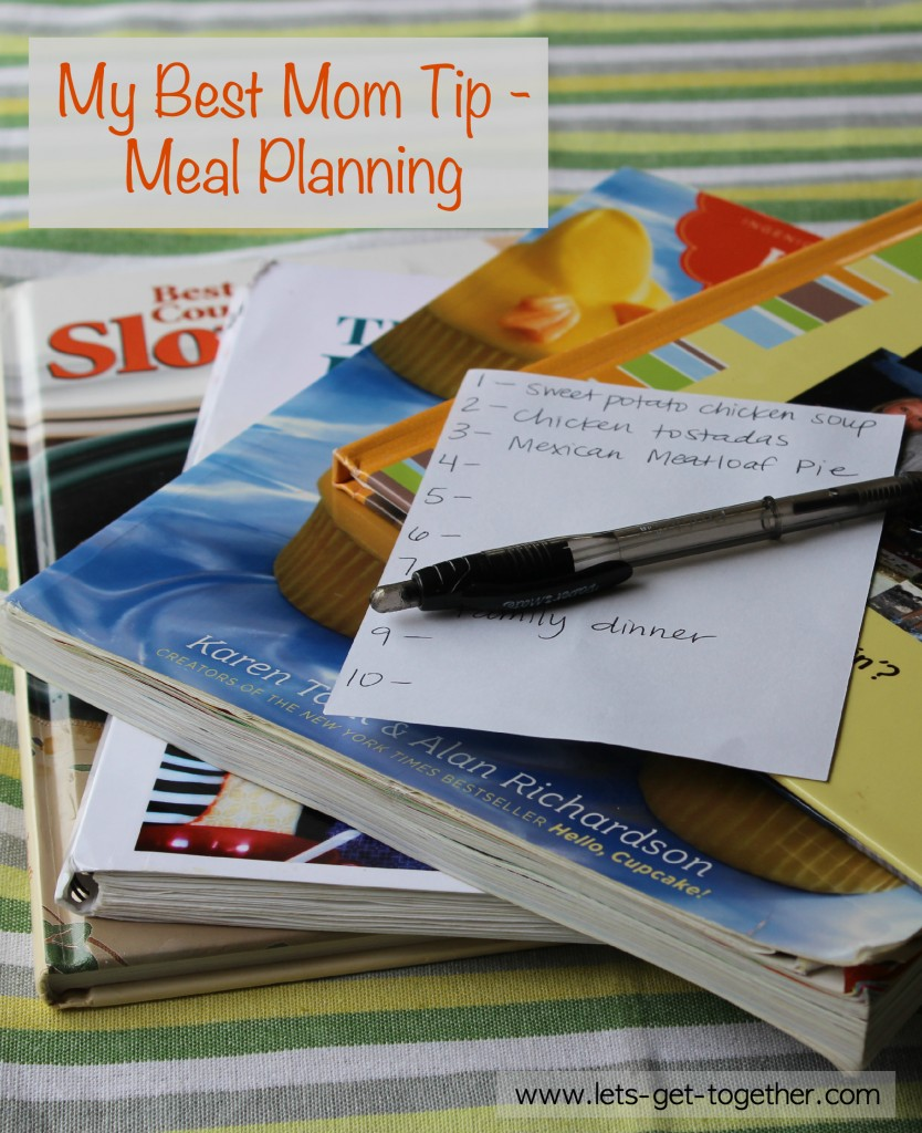 Meal Planning Vertical