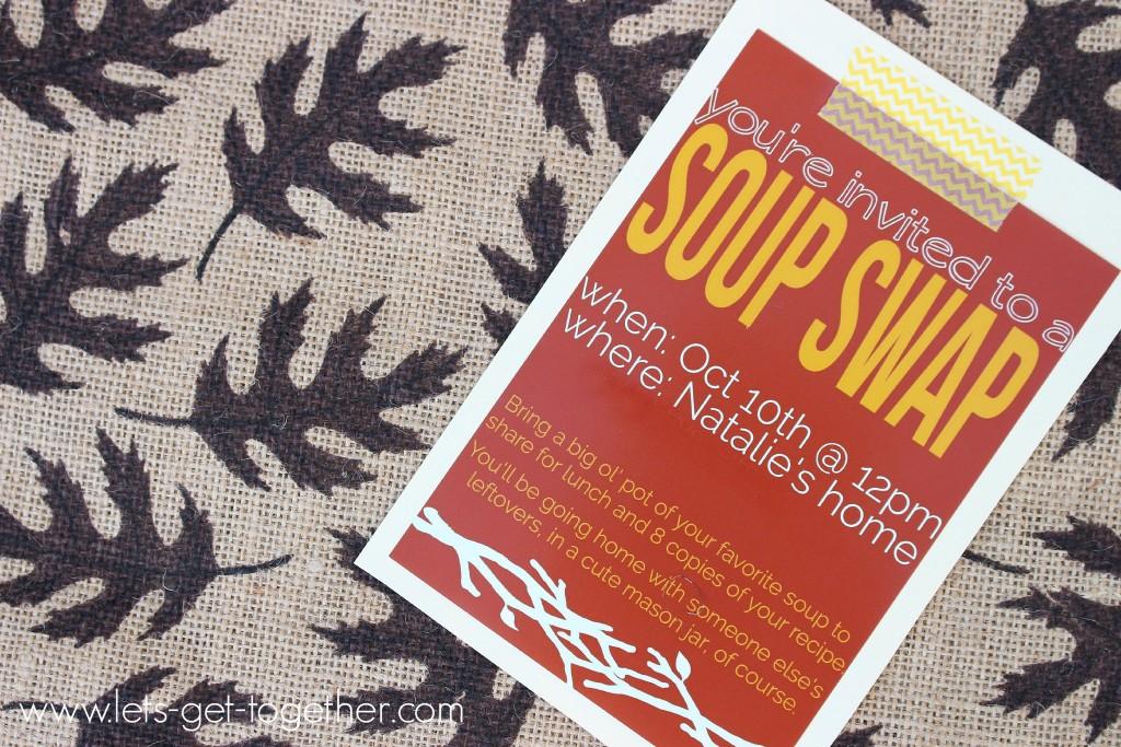 Soup Swap Invite