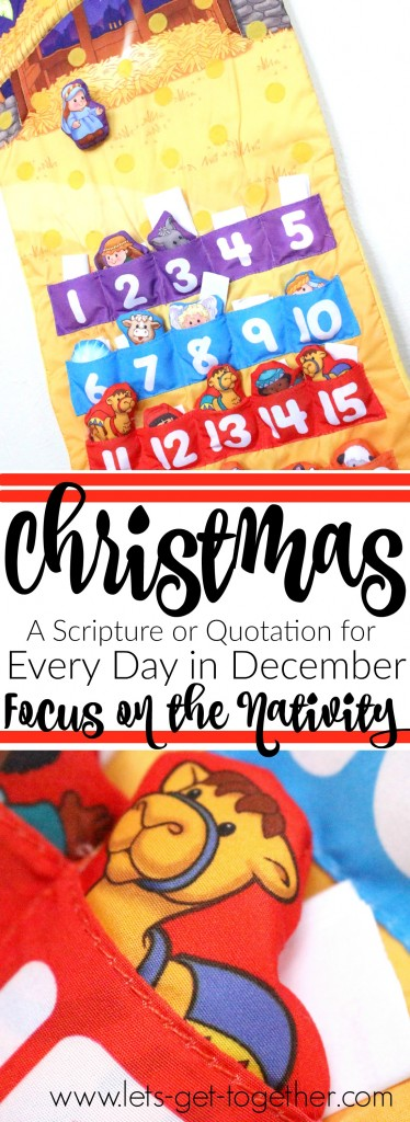 Christmas Advent-Daily Scripture or Quotation