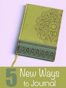 5 New Ways to Journal