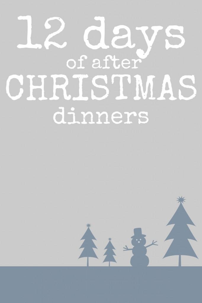 afterchristmasdinners