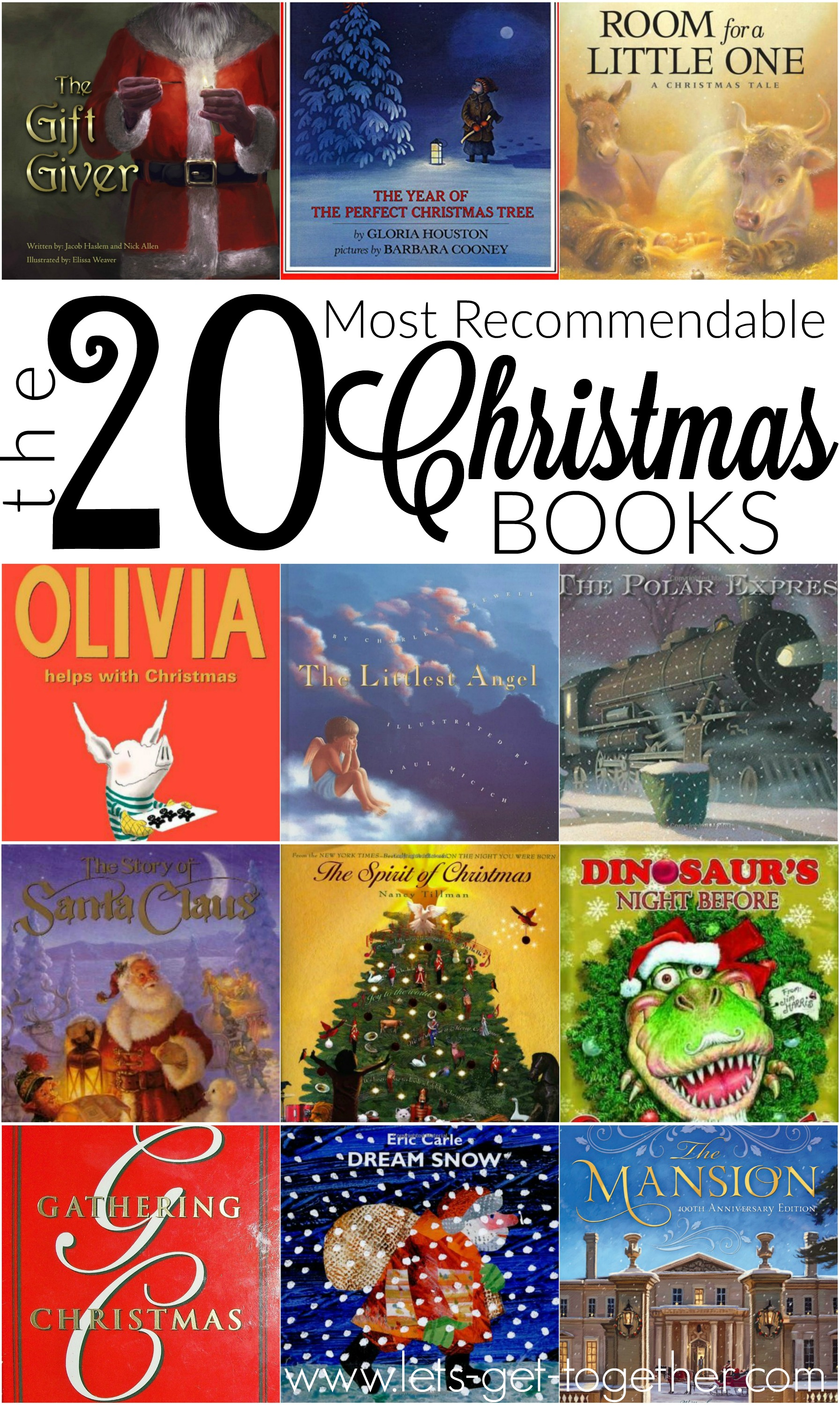 The Twenty Most Recommendable Christmas Books